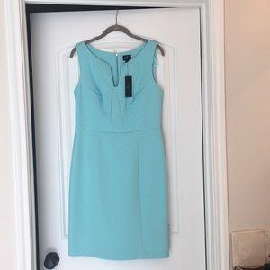 Aqua sheath Dress